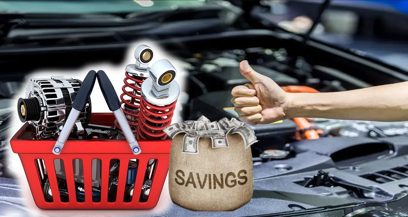 How to Save Money Buying Your Car Parts Online